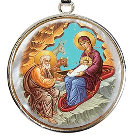 Nativity Pendant - now only $49 on sale!