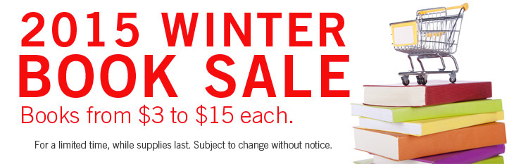 2015 Winter Book Sale